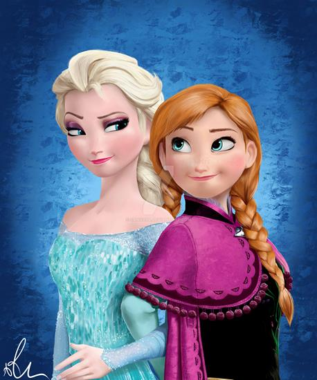 Эльза и Анна картинка