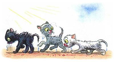 Сказка Три котёнка картинка 15