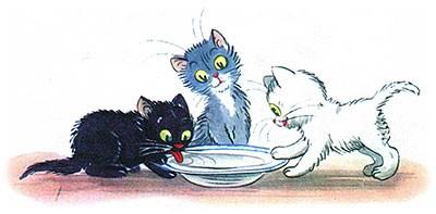 Сказка Три котёнка картинка 16