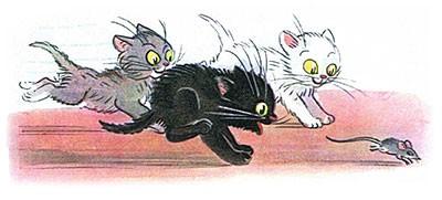 Сказка Три котёнка картинка 3