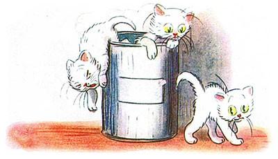 Сказка Три котёнка картинка 6
