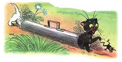 Сказка Три котёнка картинка 9