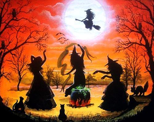 Сказка Ведьмы на Лысой горе картинка