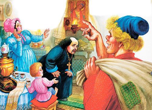 Сказка о попе и работнике его Балде картинка