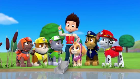 сказка щенячий патруль онлайн