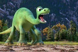Сказка про динозавра, который хотел стать смелым
