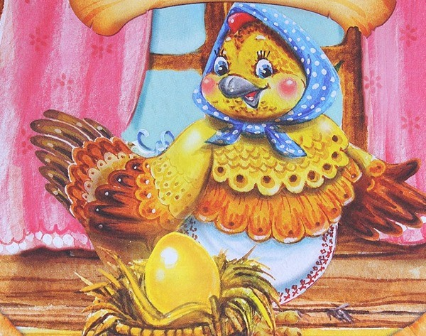картинка Курочка-ряба