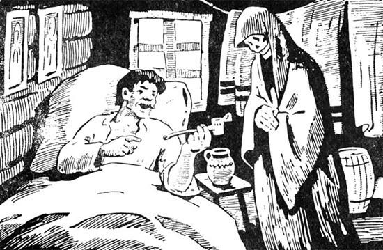 сказка Бедняк и смерть картинка
