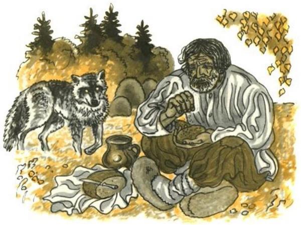 сказка Лёгкий хлеб