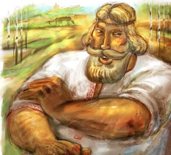 сказка Мужик болтанский, богатырь басурманский картинка