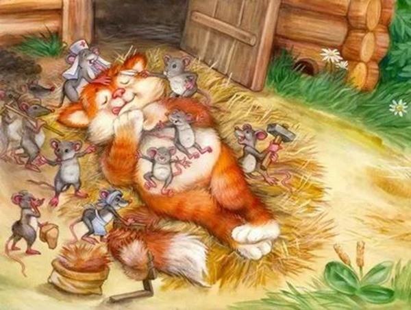 Кот и мыши сказка_result
