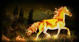 Огненный конь сказка
