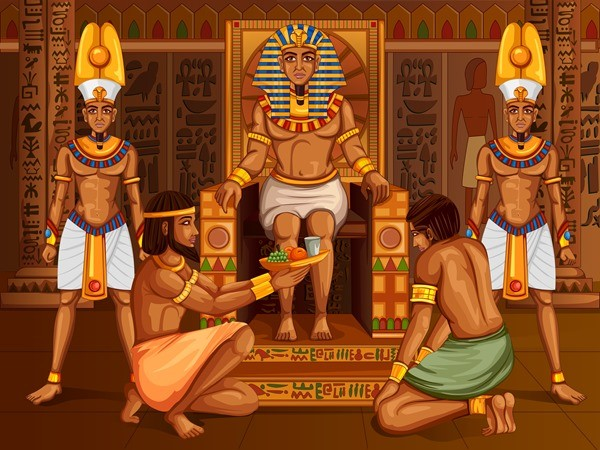 Разговор с фараоном сказка