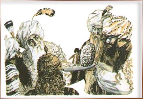 Серебряная тюбетейка сказка