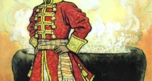 Сказка о златокудром царевиче