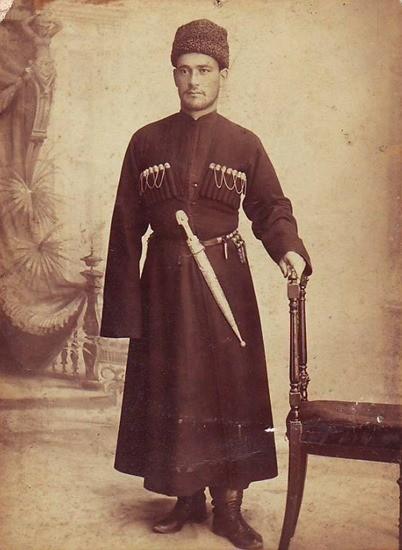 Старая черкеска фото