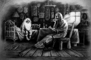 Старик и смерть сказка