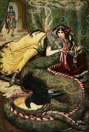 Царица духов и змей