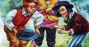 Три брата и плешивый плут сказка