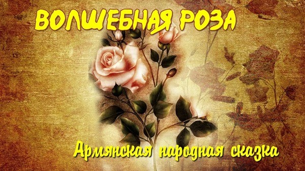 Волшебная роза сказка