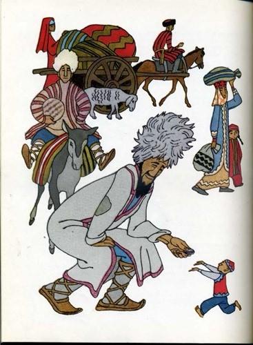 Язык зверей (Туркменская сказка) сказка