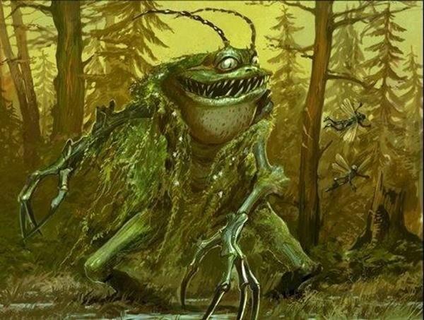 Жаба-оборотень сказка