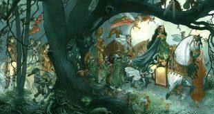 Женитьба лесных духов