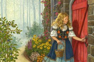 Златокудрая девочка сказка