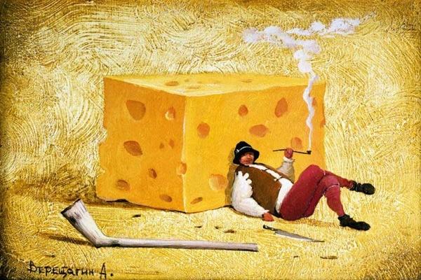 любитель сыра сказка